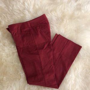 LOFT Julie Boot Cut size 00P pants